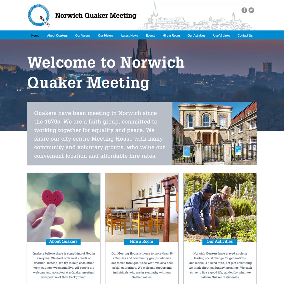 NORWICH QUAKER MEETING
