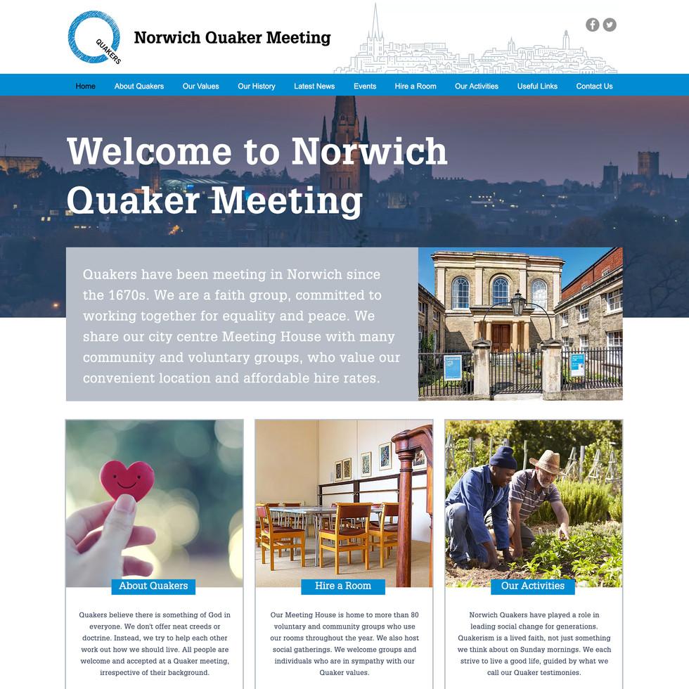 NORWICH QUAKER MEETING