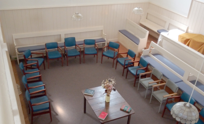View from the Gallery into the Main Meeting Room - North Walsham Meeting House