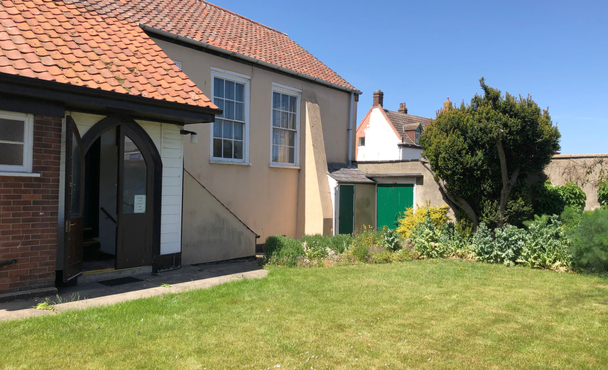 Garden Entrance - Great Yarmouth Meeting House