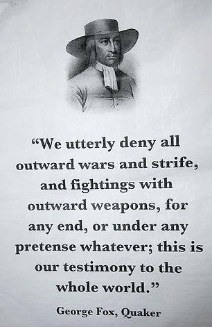 George Fox Quote - Norfolk & Waveney Quaker Meeting