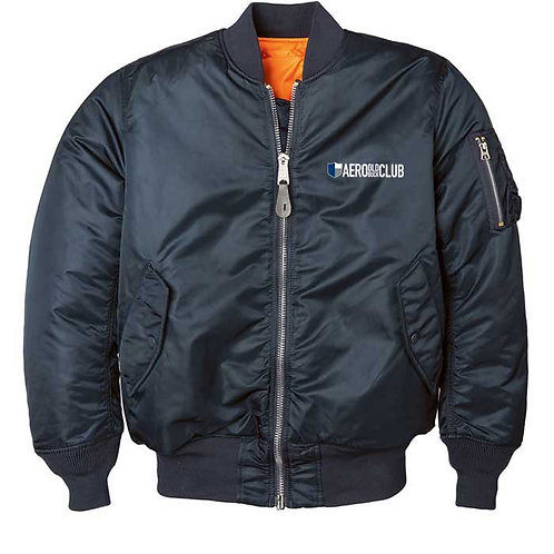 FLIGHT JACKET - Aero Blue