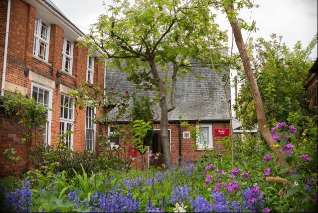 Courtyard Garden - Beccles Meeting House
