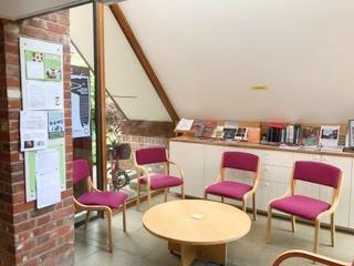 Library in Atrium 1  - Aylsham Meeting House