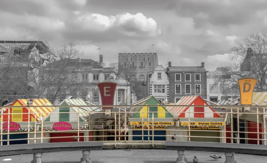 Norwich Market Pace and Norman Castle
