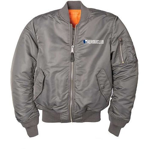 FLIGHT JACKET - Aero Grey