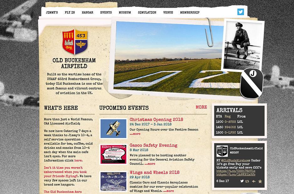 Old Buckenham Aerfield Website