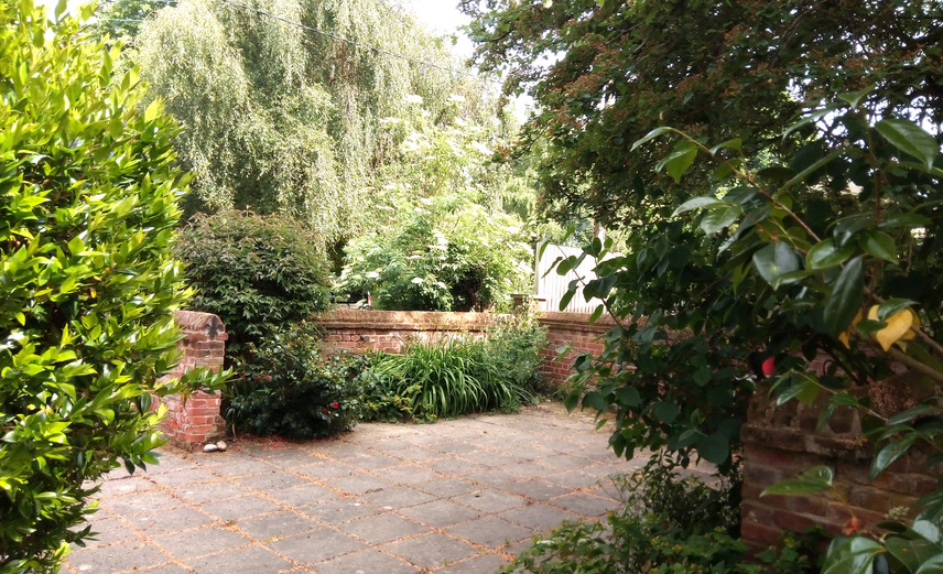 Walled Courtyard - North Walsham Meeting House