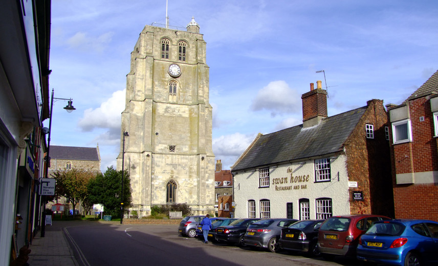 St Michael's Bell-Tower, Beccles © Dr Neil Clifton