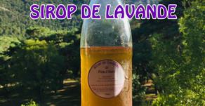 RECETTE DU MOI : Sirop de lavande pour une limonade provençale !