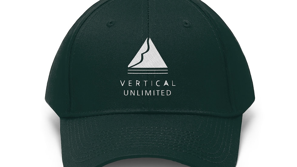 Twill Hat-Vertical Unlimited