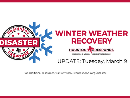 Winter Weather Update - Tuesday, March 9th