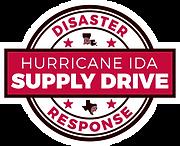 Ida Supply Drive Badge.png