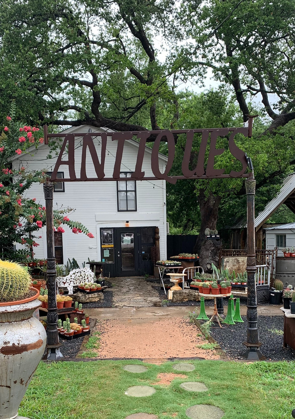 Local antique store in downtown Wimberley, TX.