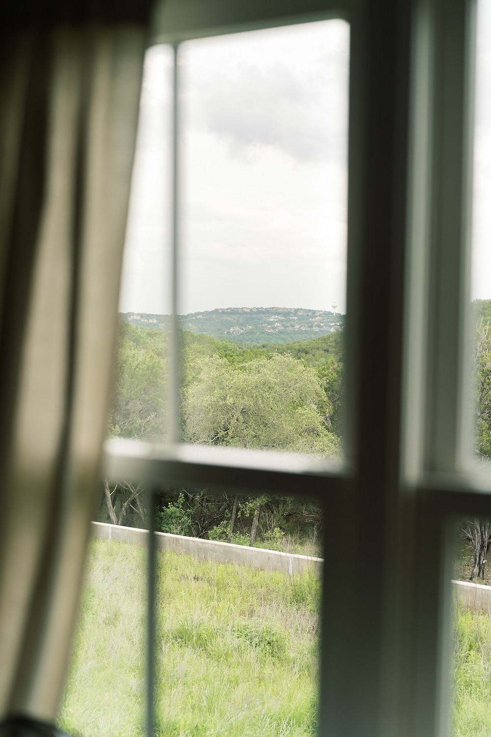 View from The Wayback Austin's cottage overlooking the Hill Country. Photo courtesy of Holly Marie Photography.
