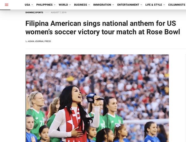 Jules Aurora - Rose Bowl Anthem