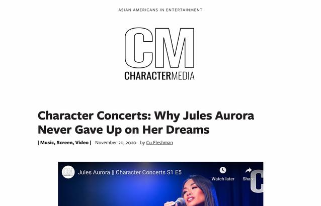 Jules Aurora - Character Media