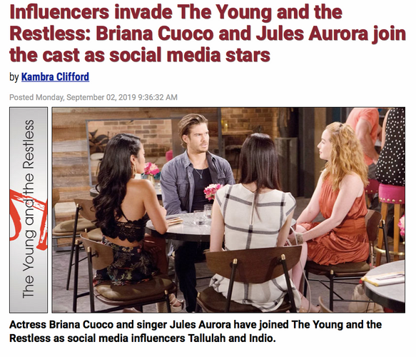 Jules Aurora - Young and the Restless