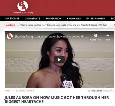 Jules Aurora - Balitang America