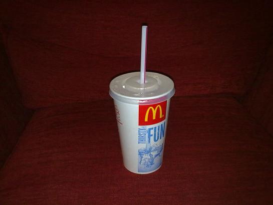 Un McDonald's, une paille et un Human Beatbox, ça donne cela !