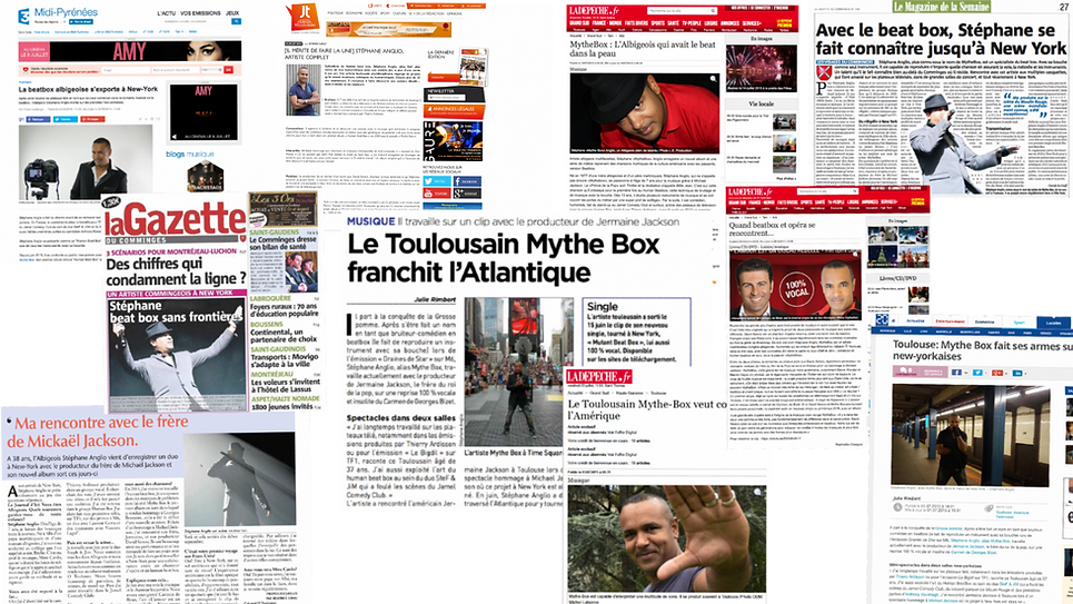 Stephan Solo - One-man Show Toulouse- Paris - Presse