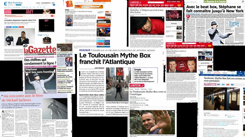 Stephan Solo - One-man Show Toulouse- Paris - Presse