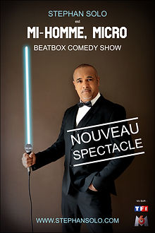 Stephan solo - one-man sow humour beatbox Toulouse