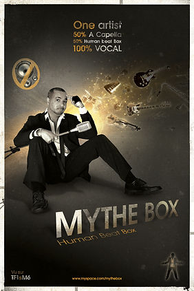 Affiche spectacle Stephan Solo - Mythe Box