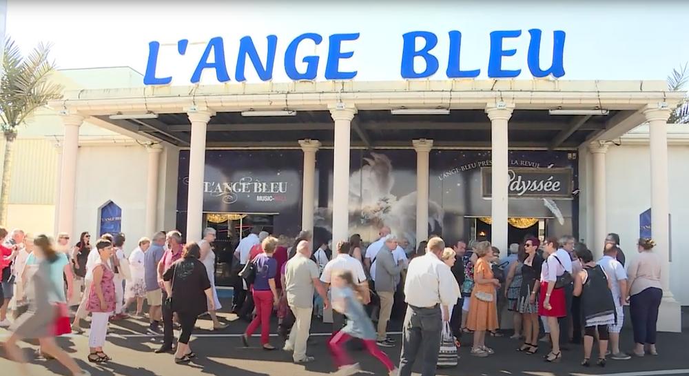 Cabaret L'ANGE BLEU en Gironde : histoire et coordonnées