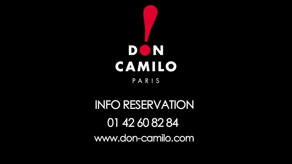 Humour | Contacter le cabaret parisien Le Don Camilo