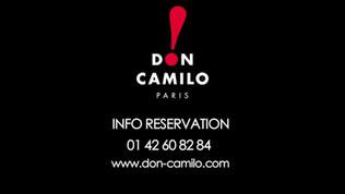 Dossier Cabaret : Le Don Camillo (contact, soirées Humour à Paris)