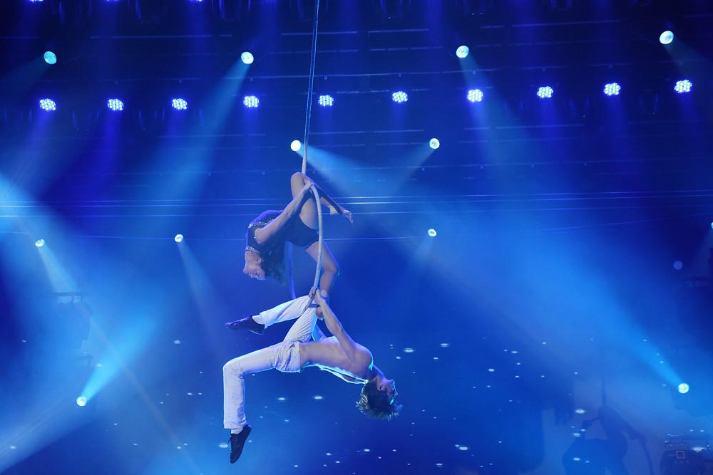 Les acrobates d'Epicirque sont régulièrement présents sur les plus grands scènes du sud de la France, de Toulouse à Bordeaux en passant par Montpellier, Perpignan ou Limoges.