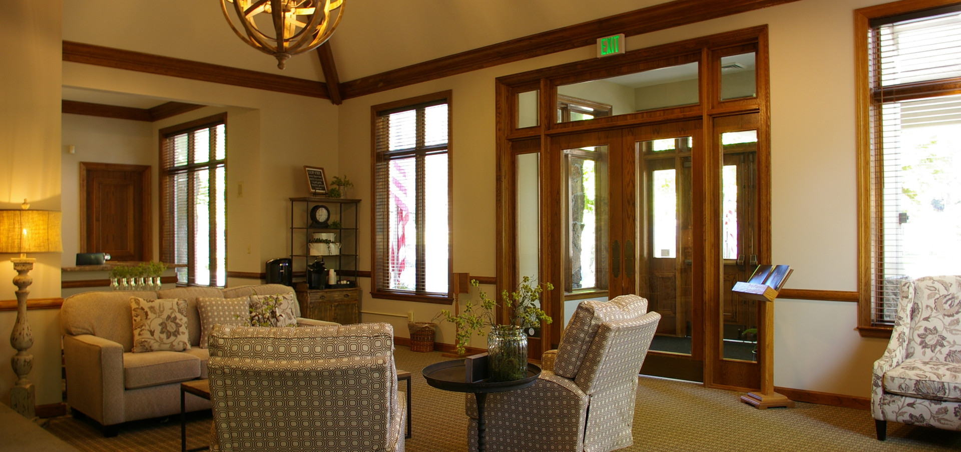 entrance seating