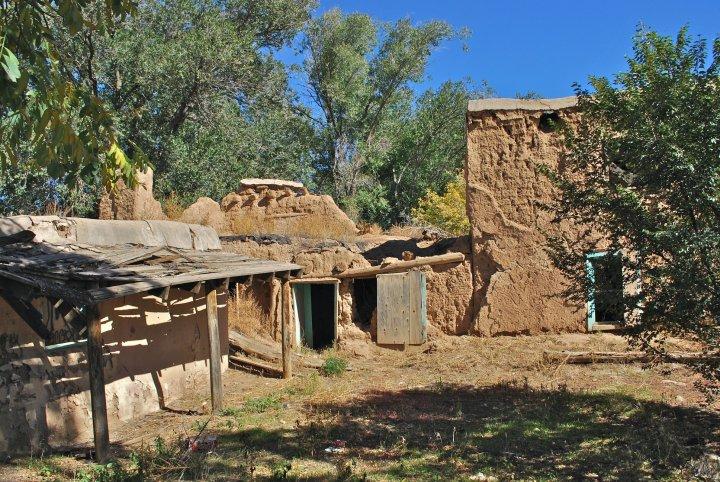 Taos ruin