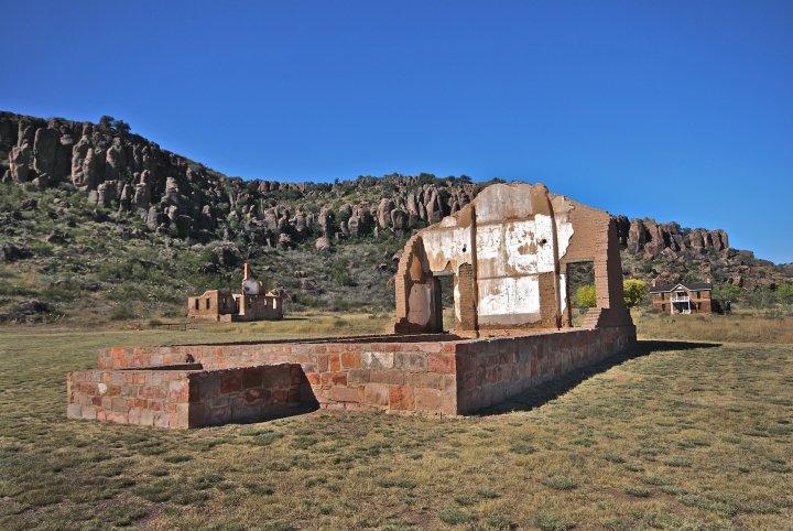 Ft. Davis Texas Ruins
