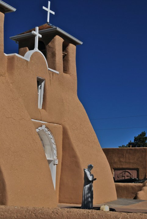 Church built in 1772 Taos