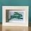 Thumbnail: Mini 'Leaping Hare' frame - blue/green