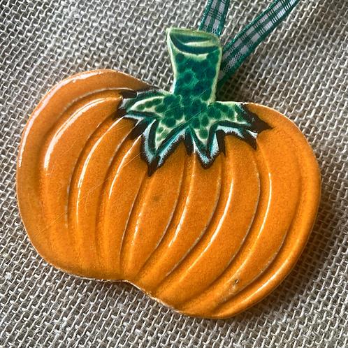Orange Hanging Pumpkin