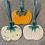 Thumbnail: Trio of Multi Hanging Pumpkins