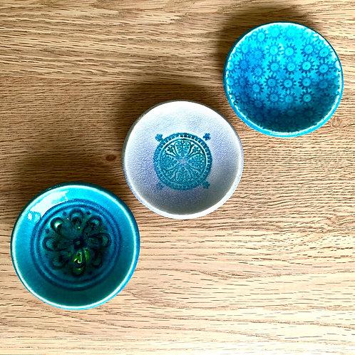 Mini dishes - set of three