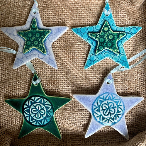 Star Decorations Set - mixed