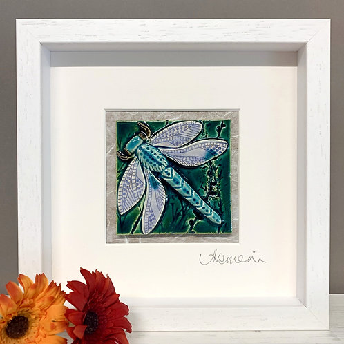 Small 'Dragonfly' Tile Frame