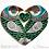Thumbnail: Small 'Lovebirds' Frame - green