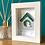 Thumbnail: Mini 'Birdhouse 3' Frame
