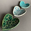 Thumbnail: Trio of heart dishes - blue/green