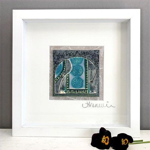 Small 'Elephant' Tile Frame