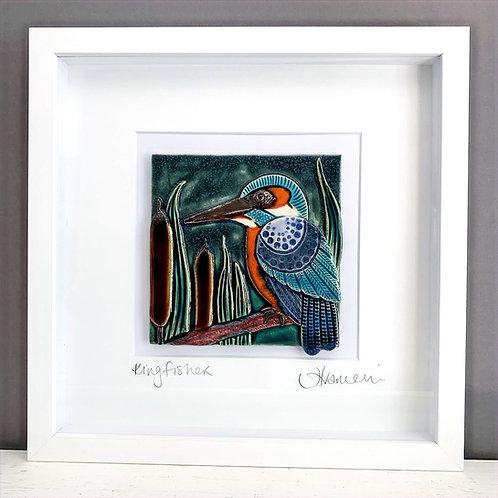 'Kingfisher' Tile Frame - Medium