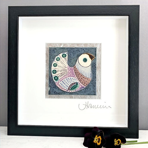Small 'Bird' Tile Frame