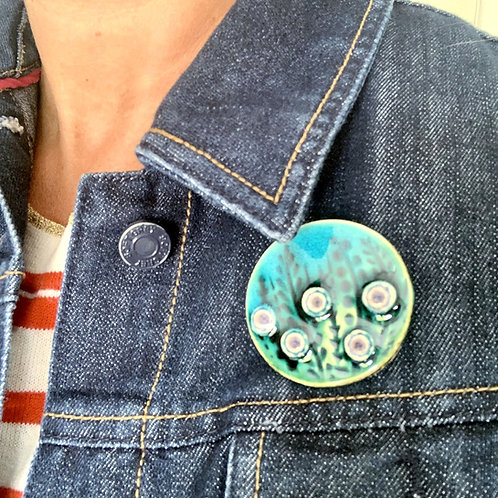 Round Meadow Brooch