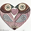 Thumbnail: Small 'Lovebirds' Frame - Lilac/pink